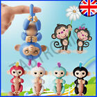 Finger Baby Monkey Toys Electronic Interactive Kids Sloth Unicorn Xmas Gift