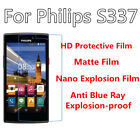 3pcs For Philips S337 High Clear/Matte/Nano Explosion/Anti Blue Ray Screen Film