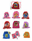 Disney Kids Sling Tote Drawstring Net Mesh Backpack Treat Bags Party Favors