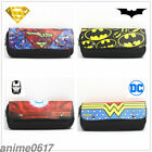 Marvel &DC Comics Pencil Pen Case Cosmetic Make Up Bag Storage Pouch Cosplay