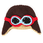 Cute Baby Girls Boys Crochet Knit Costume Photo Photography Prop Newborn Outfits
