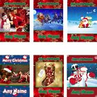 PERSONALISED CHRISTMAS CARDS CHILDREN KIDS GIRL BOY DAUGHTER SON NIECE NEPHEW