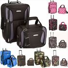 Rockland 2 Piece Luggage Set Fashion Overnight bag Travel