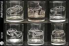 Glass Engraved Tumbler Rover V8 Cobra MG TVR SD1 Morgan FS1E Gift Christmas