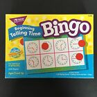 Beginning Telling Time Bingo Learning Fun Game Homeschool Class Teaching Tool