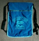 Life is Good packpack drawstring sack blue