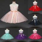 Princess Birthday Wedding Party Flower Girls Dress Formal Gown For Kid Baby Girl