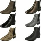 Ladies Spot On Casual Ankle Boots
