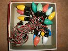 VTG NOMA CHISTMAS TREE LIGHTS 15 LAMP SET-WORKS GREAT-VERY GOOD CONDITION!