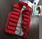 2017 HOT Sales Men's Fashion Winter Warm Vest Waistcoat stand Collar Jacket New