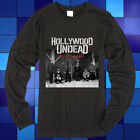 New Hollywood Undead HU Day of The Dead Long Sleeve Black T-Shirt Size S-3XL