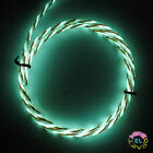 5m ULTRA Chasing EL Wire Tri Colour- £12 p/m Super Bright Glowing Motion Wire