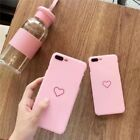 Fashion Couples Love Heart Painted Phone Case For Apple iphone 5 5S 6 7 8 Plus