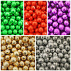 MILK CHOCOLATE FOIL BALLS FOR PARTY FAVOURS -  ALL COLOURS AVAILABLE x2