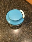 TUPPERWARE CHOP N PREP CHEF Mini Food Chopper Processor BLUE!