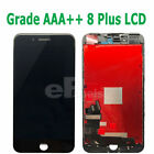 "5.5"" iPhone 8Plus A1864 Compatible LCD Touchscreen Digitizer Assembly Black"