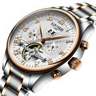 Luxury Men's Automatic Mechanical Date Day Stainless Steel Band Wrist Watch