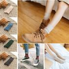 1 Pair Wool Cashmere Women Dress Casual Socks Warm Winter Thick Comfortable Sock