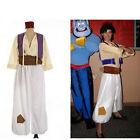 US Ship! Christmas Party Aladdin and His Wonderful Lamp Prince Cosplay Costume