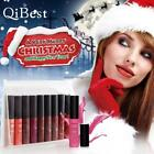 9pcs Waterproof Soft Matte Lip Gloss Long-lasting Liquid Lipstick Set FF