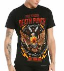 Five Finger Death Punch T-Shirt Got Your Six thrash metal rock M XL 2X 3XL NWT