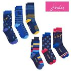 Joules Mens 3 Pack Bamboo Socks One Size (7-12) Styles Hare Or Dog