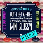 LIPSENSE Mini 1.4ml **SAMPLE SIZE**w/ FREEBIES**FREEBIES**FR