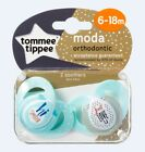 Baby Soother Dummy Pacifier Nipple Tommee Tippee  0-6m / 6-18m 2 Pack