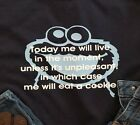 Cookie monster funny shirt  live life custom personalize sesame street Humorous