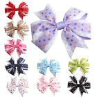 2pcs Baby Cute Hair Clip Big Bow knot Hairpin Children Hair Head Wear for Gift