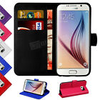 Case Cover For Samsung Galaxy S6 Edge+ Mgnetic Flip Leather Wallet Card Holder