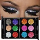 6 Colors Glitter Eye Shadow Powder Palette Matte Eyeshadow Cosmetic  AUS 01