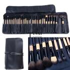 32 PCS Makeup Brush Set Cosmetic Pencil Lip Liner Make Up Kit Holder Bag TXSU 02