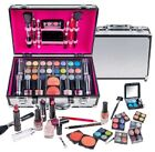 SHANY Carry All Makeup Train Case with Pro Makeup, Reusable Aluminum Train Case