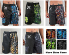 Mens Camo Swim Suits - Board Shorts [Black, Red, Blue, Green, Gray] Camouflage