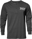 NEW THOR Corp Henley Long Sleeve Shirt