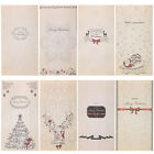8pcs Kraft Paper Xmas Party Holiday Cookies Present Gift Bag Luxury Wedding Bags