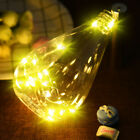 20 LED Bright Colorful Bottle Licht Kit Fairy Lights Battery Top Wedding Decorat