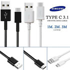 Heavy Duty Fast Charge USB C Type C Data Phone Charger Cable Lead 1m 2m 3m