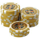 Pokerchips 13g Clay (Ton) Laser Metallkern Ultimate 1 bis 50000 für Pokerkoffer