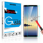 2XSamsung Galaxy Note 8/S8/S8Plus Full Clear Tempered Glass Screen Protector Lot