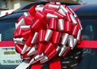 Giant bow for car Big Large Gift Bow   ALL COLOURS  + SUPERFAST DISPATCH!!