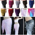 NEW Belly Dance Hip Triangle Wrap Scarf Skirt Belt Dancing Costume US FAST