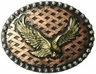 Ariat Mens Accessories Nocona Crumrine Eagle Hatch Back Buckle- Pick SZ/Color.