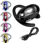 Wireless Bluetooth Headset Business Handsfree Earphone For M