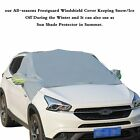 Car Windshield Snow Cover Sun Shade Protector-Winter Snow Ice Dust Frost Guard