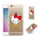 Cartoon Hello Kitty Flowers Print Phone Case Cover For iPhone Samsung LG N764-42