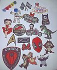 Embroidered Iron On Sew On Patches Badges Transfers - Fancy Dress Brand New £2.49 GBP