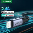UGREEN Apple USB to MFi Lightning Cable Data Charger Fr iPhone 11 Pro X XS iPad