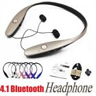 WIRELESS Retractable Running Sports BLUETOOTH Headphones Headset Stereo Earphone